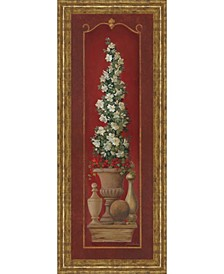 """Potted Plant I Print in Framed Print Wall Art - 18"""" x 42"""""""