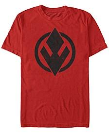 Men's Rise Of Skywalker Sith Trooper Logo Short Sleeve T-Shirt