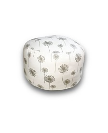 Savvy Chic Living Large Round Pillow Poufette