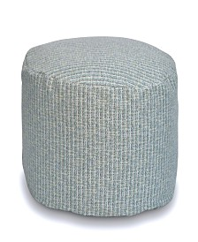 Savvy Chic Living Small Round Poufette