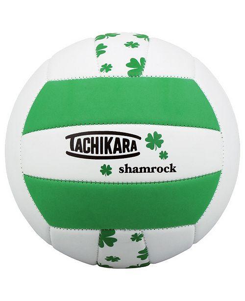 Tachikara Softec Shamrock Pattern Volleyball