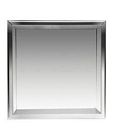 Polished Stainless Steel Square Single Shelf Bath Shower Niche
