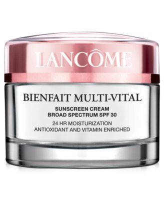 Image of Lancôme Bienfait Mult-Vital SPF 30 Cream, 1.7 oz