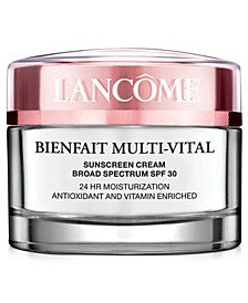 Bienfait Multi-Vital SPF 30 Day Cream Moisturizer and Sunblock, 1.7 oz.