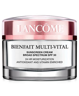 Image result for lancome bienfait multi-vital sunscreen cream