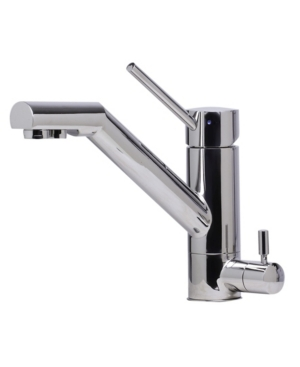 Alfi brand Solid Polished Stainless Steel Kitchen Faucet with Built in Water Dispenser Bedding