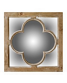 Antique Window Pane Mirror