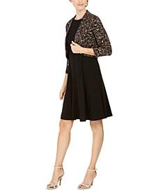 Petite Embellished Bolero Jacket & Dress