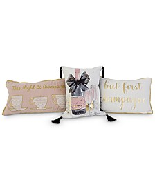 Champagne Decorative Pillow Collection