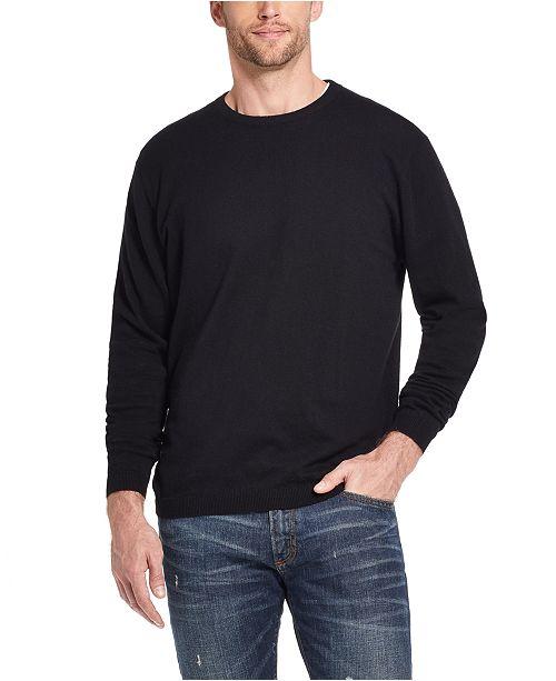 Weatherproof Vintage Men's Solid Sweater