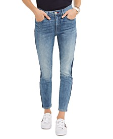 Logo-Striped Skinny Jeans, Created For Macy's