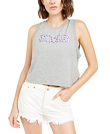Women's Cropped Logo Tank