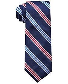 Big Boys Classic Triple Bar Stripe Silk Tie