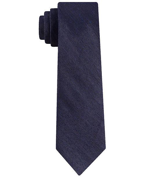 DKNY Men's Fine Line Stripe Tie