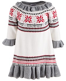 Baby Girls Cotton Sweater Dress