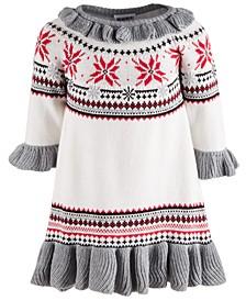 Baby Girls Cotton Sweater Dress