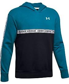 Under Armour Big Boys Sportstyle Colorblocked Fleece Hoodie