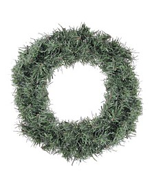 "12"" Mini Canadian Pine Artificial Christmas Wreath - Unlit"