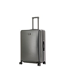 "Triforce Milan 30"" Spinner Satin Finish Leather Trim Luggage"