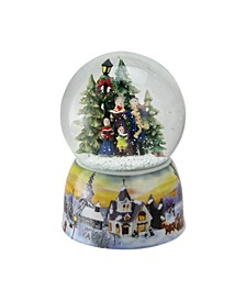 "6"" Christmas Carolers Winter Scene Musical Snow Globe"