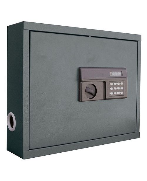 Edsal Steel Wall Mount Laptop Safe with Electronic Lock
