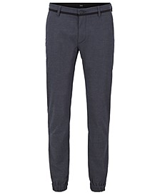 BOSS Men's Cuffed Slim-Fit Trousers