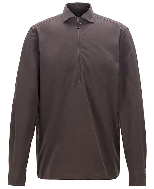 Hugo Boss BOSS Men's Falcom Relaxed-Fit Shirt