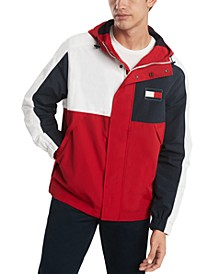 Men's Dover Colorblocked Water-Resistant Hooded Yacht Jacket