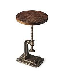 Ellis Industrial Accent Table