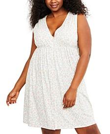Plus Size Nursing Nightgown