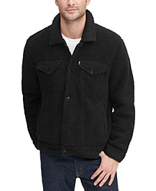 Men's All-Over Sherpa Trucker Jacket