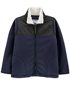 Little & Big Boys Fleece Zip-Up Jacket