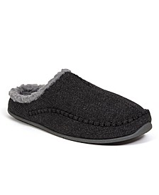 Slipperooz Men's Nordic S.U.P.R.O. Sock Cushioned Indoor Outdoor Clog Slipper