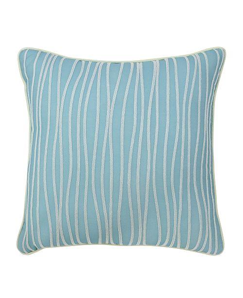 "Croscill Marley 16"" Square Fashion Pillow"