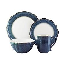 Jay Imports Camilla Scallop 16 Pc Dinnerware Set