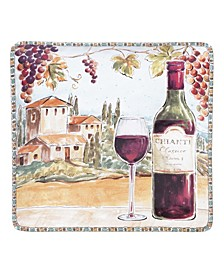 Tuscan Breeze Square Platter