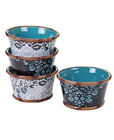 Exotic Jungle 4-Pc. Ice Cream Bowls asst.