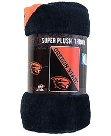 Oregon State Beavers Micro Raschel Halftone Blanket