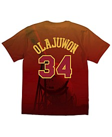 Men's Hakeem Olajuwon Houston Rockets City Pride Name And Number T-Shirt