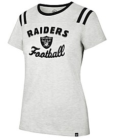'47 Brand Women's Oakland Raiders Huddle Up T-Shirt
