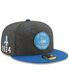 Boys' Detroit Lions On-Field Sideline Home 59FIFTY-FITTED Cap