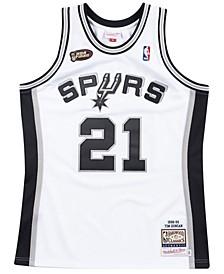 Men's Tim Duncan San Antonio Spurs Authentic Jersey