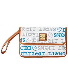 Detroit Lions Doodle Milly Wristlet