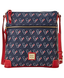 Houston Texans Saffiano Large Crossbody