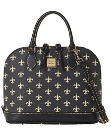 Dooney & Bourke New Orleans Saints Saffiano Zip Satchel