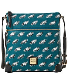 Philadelphia Eagles Saffiano Large Crossbody