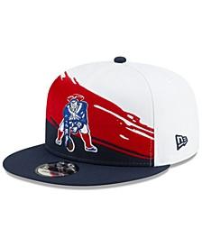 New England Patriots Vintage Paintbrush 9FIFTY Cap