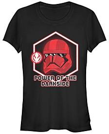 Women's Rise of Skywalker Power of The Darkside Red Trooper T-Shirt