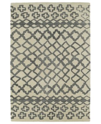 Casablanca CAS01-75 Gray 8' x 11' Area Rug