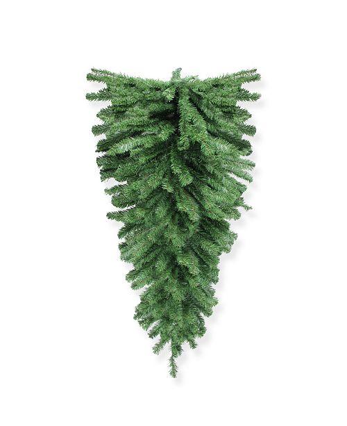 "Northlight 54"" Canadian Pine Christmas Teardrop Swag - Unlit"